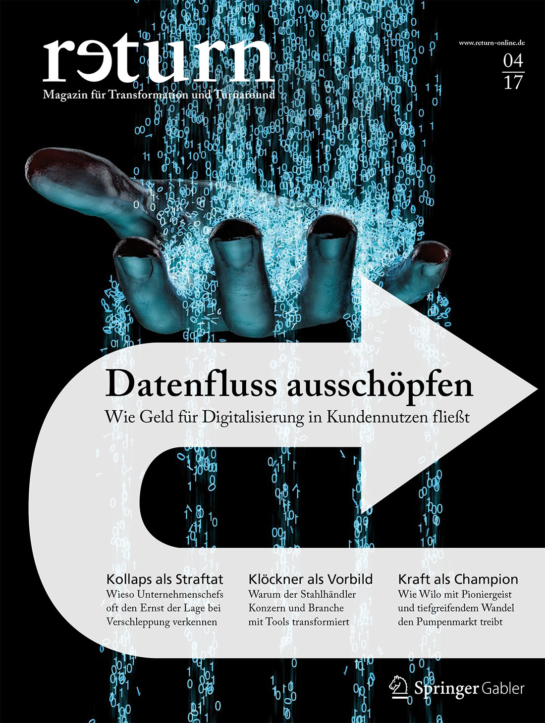 Titelblatt return 4/2017 - Digitalisierung