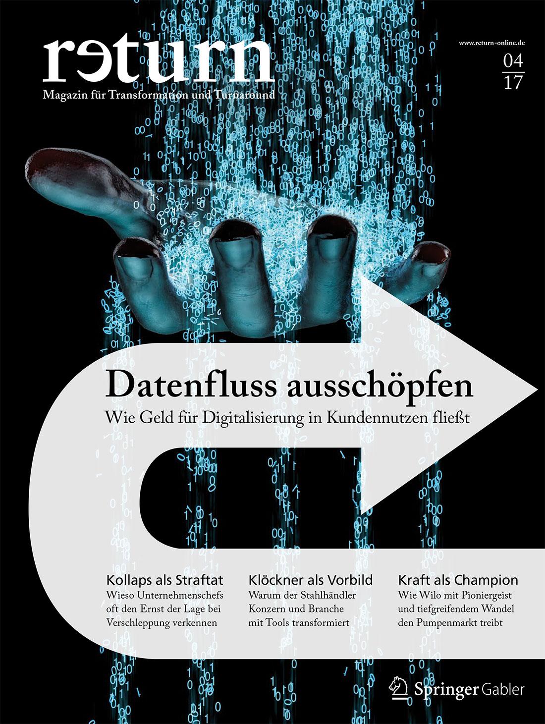 Titelblatt return 4/2017 - Digitalisierung